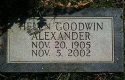Helen B. Mary <i>Goodwin</i> Alexander