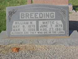 Mattie Louella <i>Shirley</i> Breeding