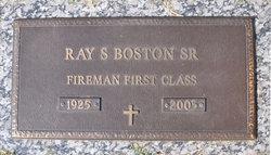 Ray Spence Boston, Sr