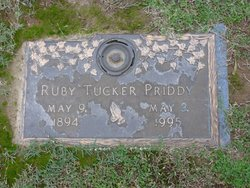 Ruby <i>Tucker</i> Priddy