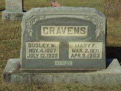 Mary Frances Fannie <i>Newton</i> Cravens