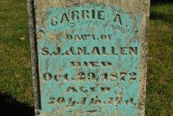 Carrie A Allen