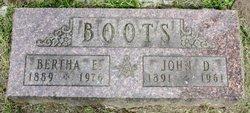 Bertha Elsie <i>Nelson</i> Boots