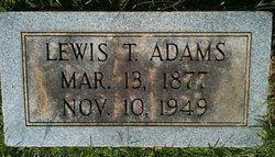 Lewis Trumble Adams