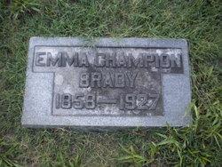 Emma <i>Champion</i> Brady
