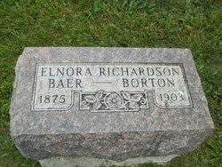 Elnora <i>Richardson</i> Baer - Borton