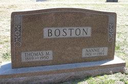 Thomas M. Boston