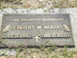 Dorothy M Ackers