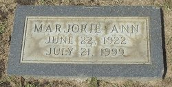 Marjorie Ann