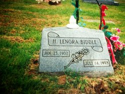 Harry Lenora <i>Hall</i> Biddle
