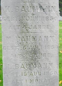 Katherine M Baumann