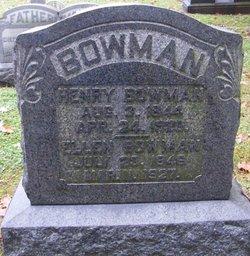 Pvt Henry Bowman