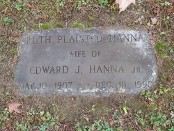 Ruth <i>Plaisted</i> Hanna