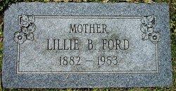 Lillie Belle <i>Philpot</i> Ford