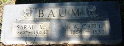 Sarah Mariah <i>Caywood</i> Baum
