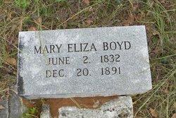 Mary Eliza <i>Sellers</i> Boyd