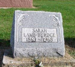 Sarah <i>Lamb</i> Burdge