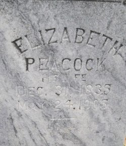 Elizabeth Wealth <i>Peacock</i> Blanton