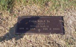 Carl Bible, Sr
