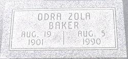 Odra Zola <i>Cunningham</i> Baker