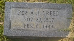 Rev A J Creed