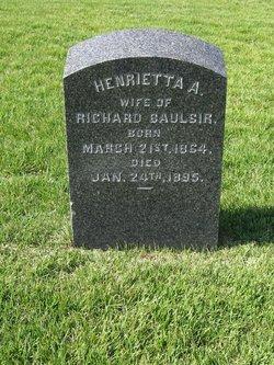 Henrietta A. Baulsir
