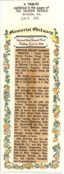 Arthur Grant Bill Norris