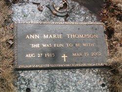 Ann Marie <i>Hagen</i> Thompson