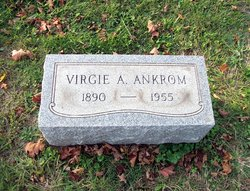 Virgie Amelia <i>Mayfield</i> Ankrom