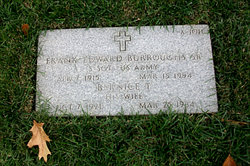 Frank Edward Burroughs, SR