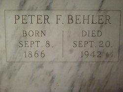 Peter F Behler
