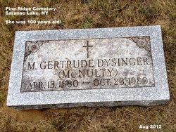 Marguerite Gertrude <i>McNulty</i> Dysinger