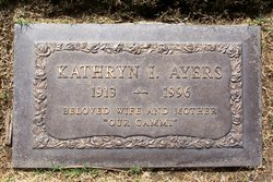 Kathryn Irma <i>Webb</i> Ayers