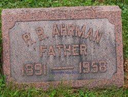 Raymond B Ahrman