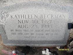 Kathleen <i>Bonner</i> Beckman