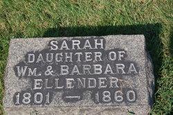 Sarah Ellender