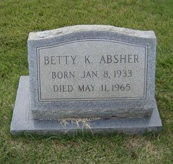 Betty Frances <i>Kinley</i> Absher