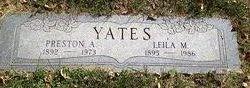 Leila M. <i>Hall</i> Yates
