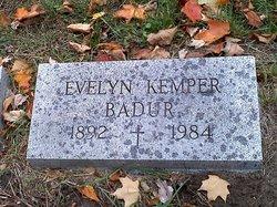 Evelyn <i>Kemper</i> Badur