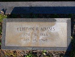 Clifton F Adams