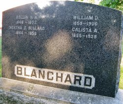 Calista Ann <i>Marble</i> Blanchard