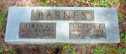 Loretta Elizabeth <i>Phillips</i> Barnes