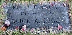 Alice A Legg