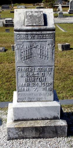 Elmer L Burton