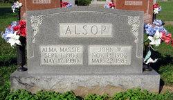 Alma Rae <i>Massie</i> Alsop
