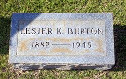 Lester K Burton