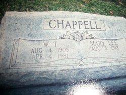 Will Tom Chappell, Sr