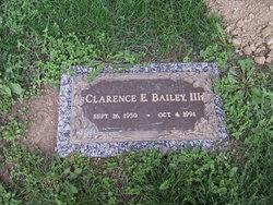 Clarence E Bailey, III