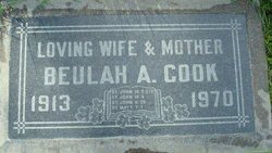 Beulah Aline <i>Seals</i> Cook
