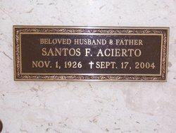 Santos F. Acierto
